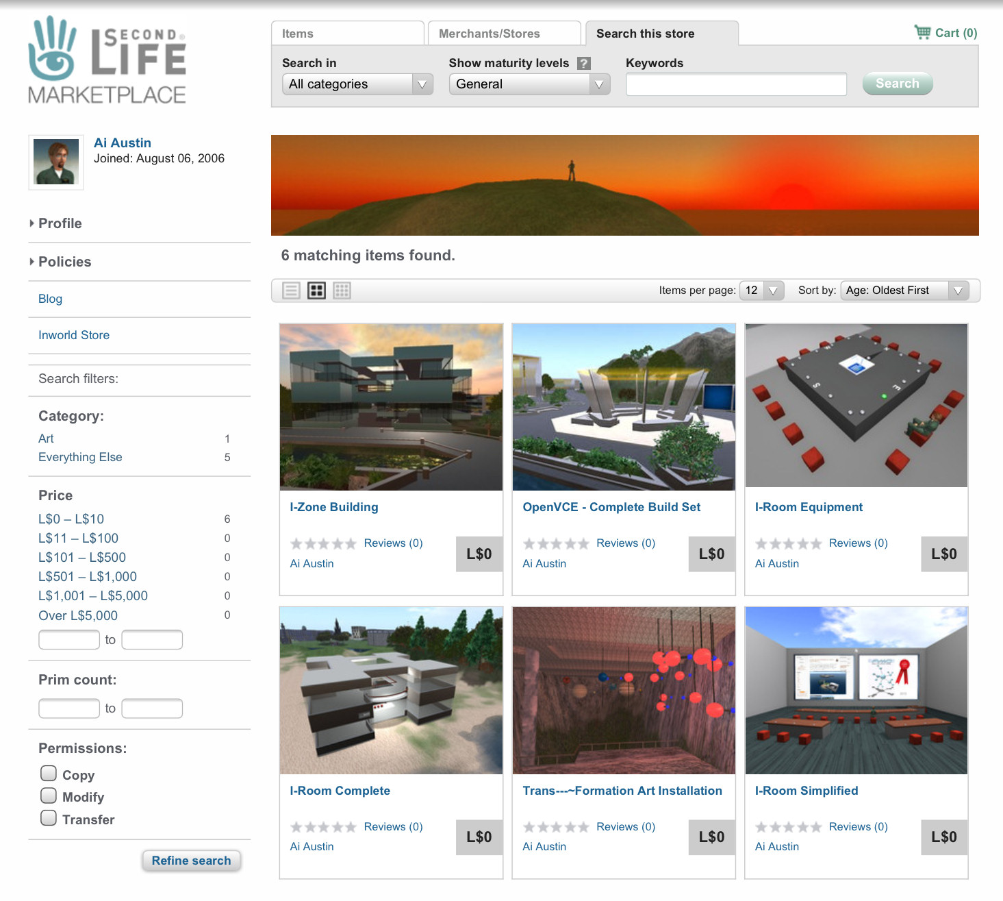 Second Life Marketplace Ai Austin