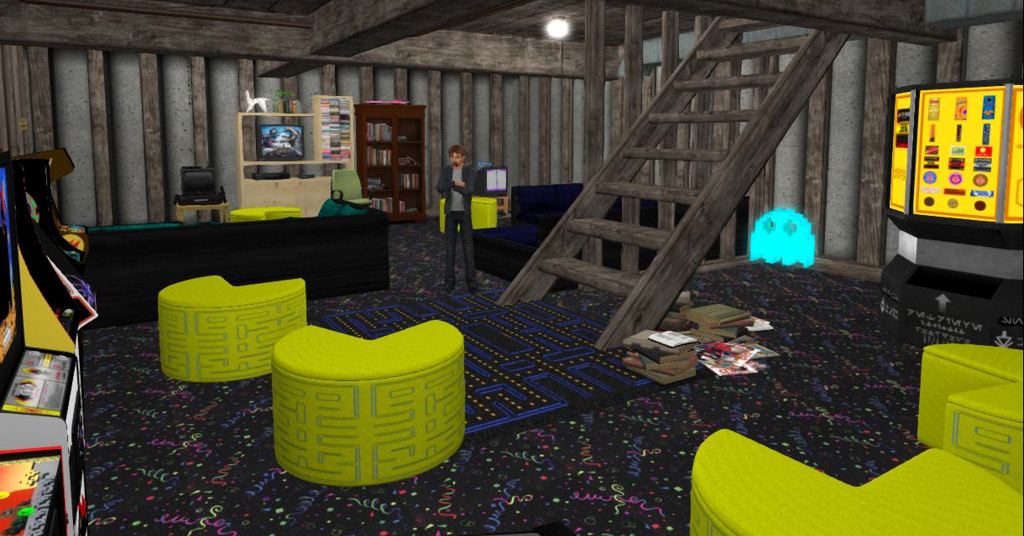 Ready Player One Aech S Basement Chatroom In Second Life Austin Tate S Blog
