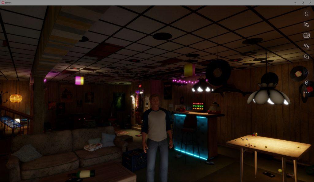 Garage Movie Room