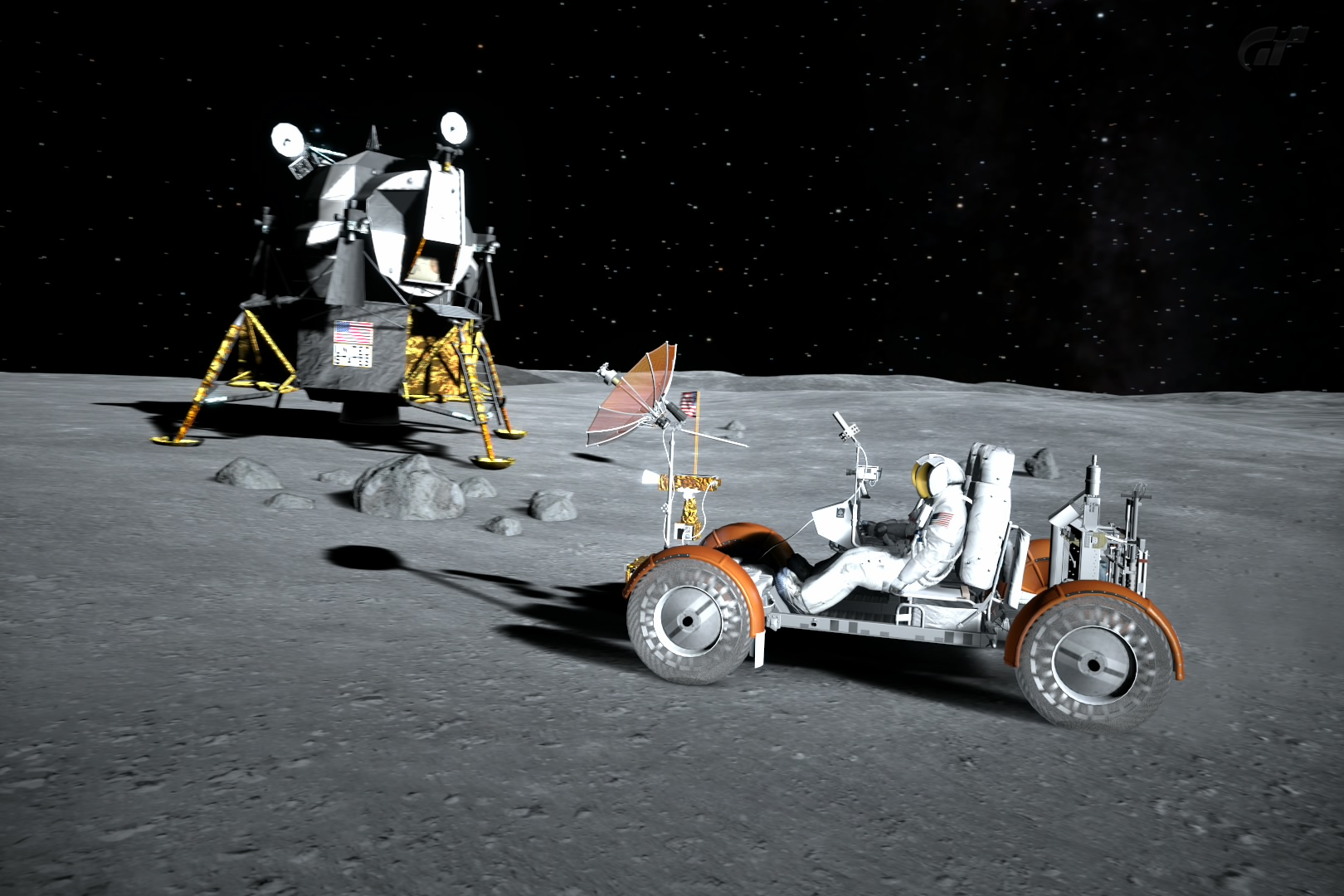 Moon 3D The Lunar Surface Comes to Life Jim Bell