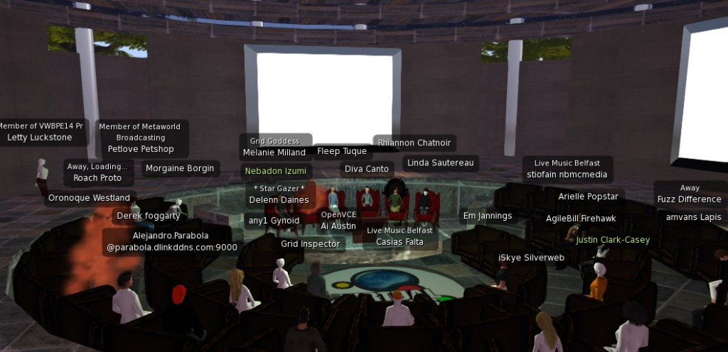 2014-04-10-VWBPE-OpenSim-Panel-Screen-1a