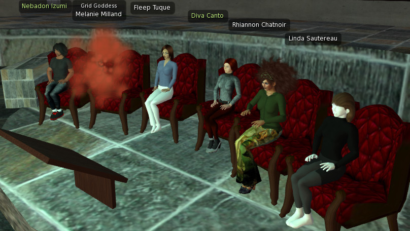 2014-04-10-VWBPE-OpenSim-Panel-Screen-2