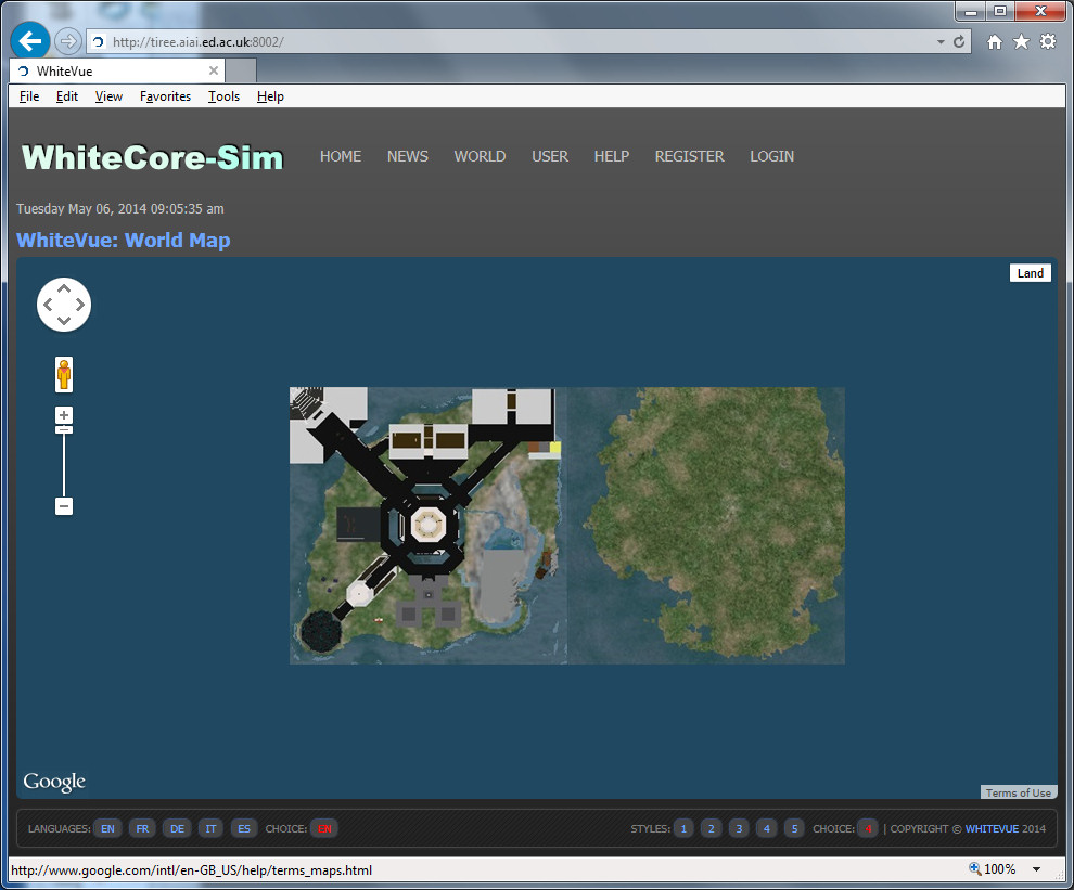2014-05-05-WhiteCore-Test-Warp3D-Maps