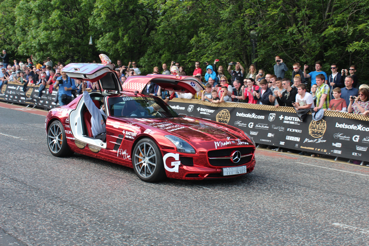 Gumball 3000 Rally 2014 in Edinburgh | Austin Tate's Blog