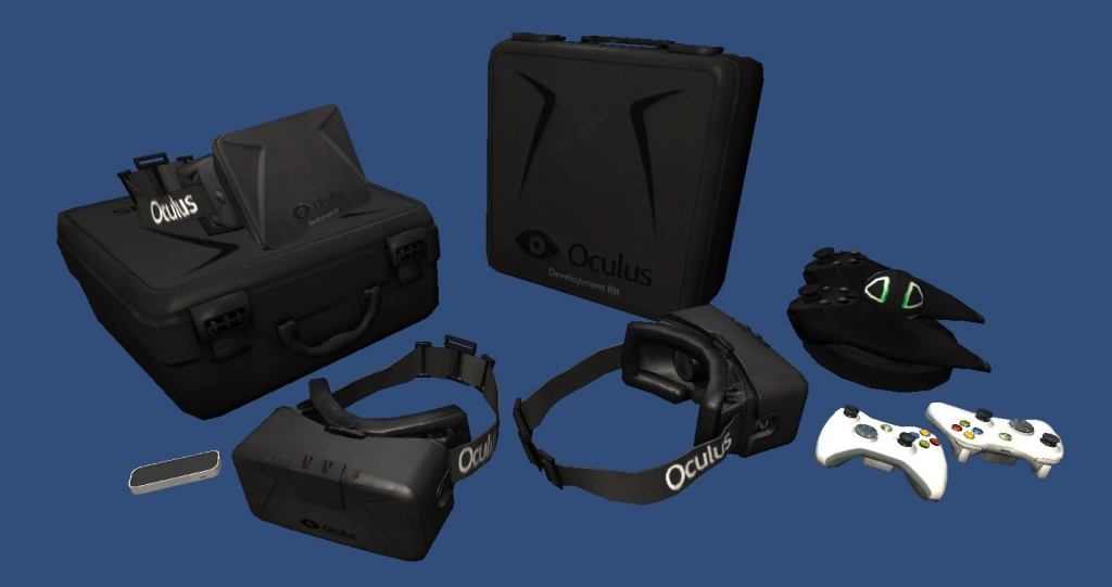 Oculus-Rift-3D-Models-Package