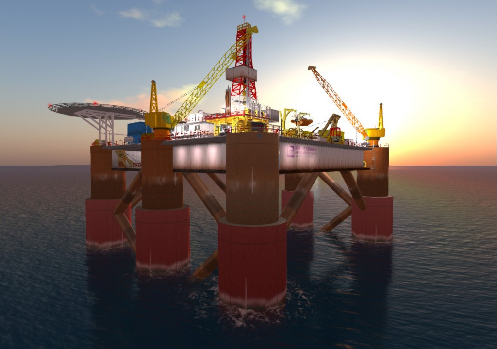 2013-06-16-RGU-Oil-Rig-Sunset