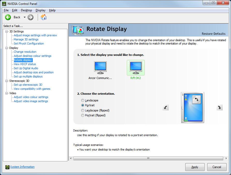 2014-08-27-Nvidia-Control-Panel-for-Rift-DK2-in-Extended-Desktop-Mode-Rotation