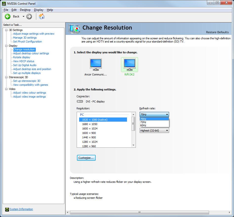 2014-08-27-Nvidia-Control-Panel-for-Rift-DK2-in-Extended-Desktop-Mode