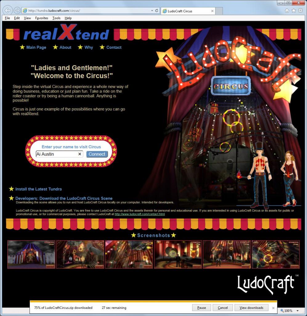 2014-09-24-realXtend-Circus-1