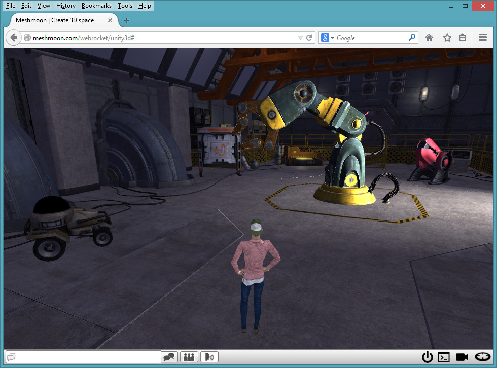 2014-09-30-Meshmoon-Unity3D-Robot-Lab
