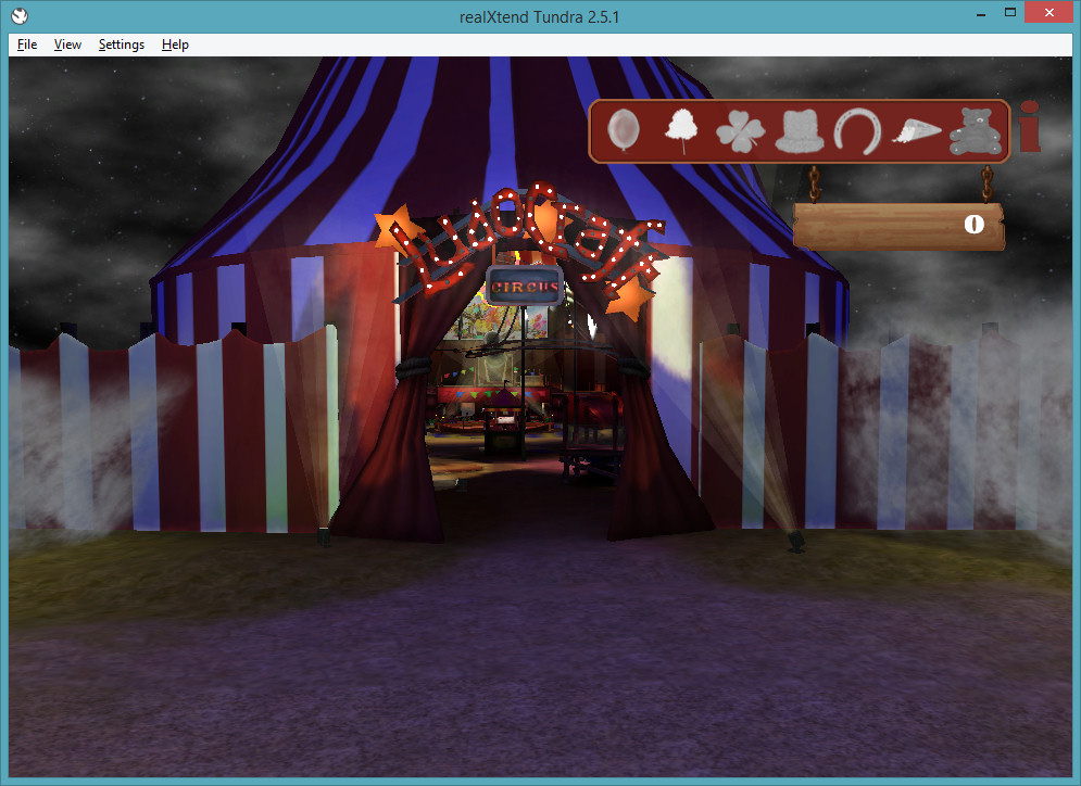 2014-09-30-realXtend-Tundra-Circus-1