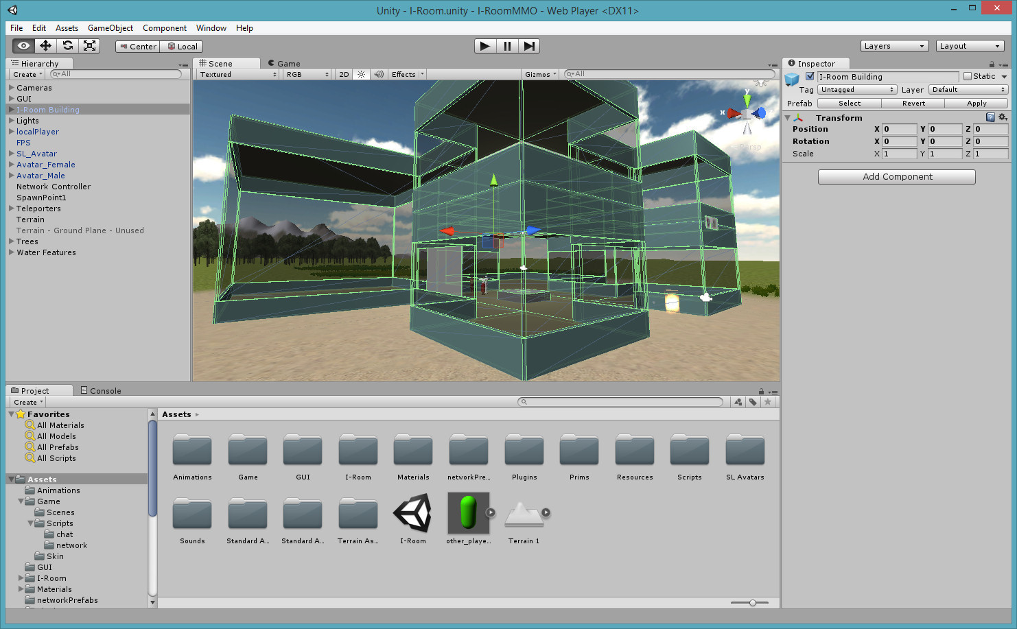 Unity Project – OpenVCE and I-Room   Austin Tate's Blog