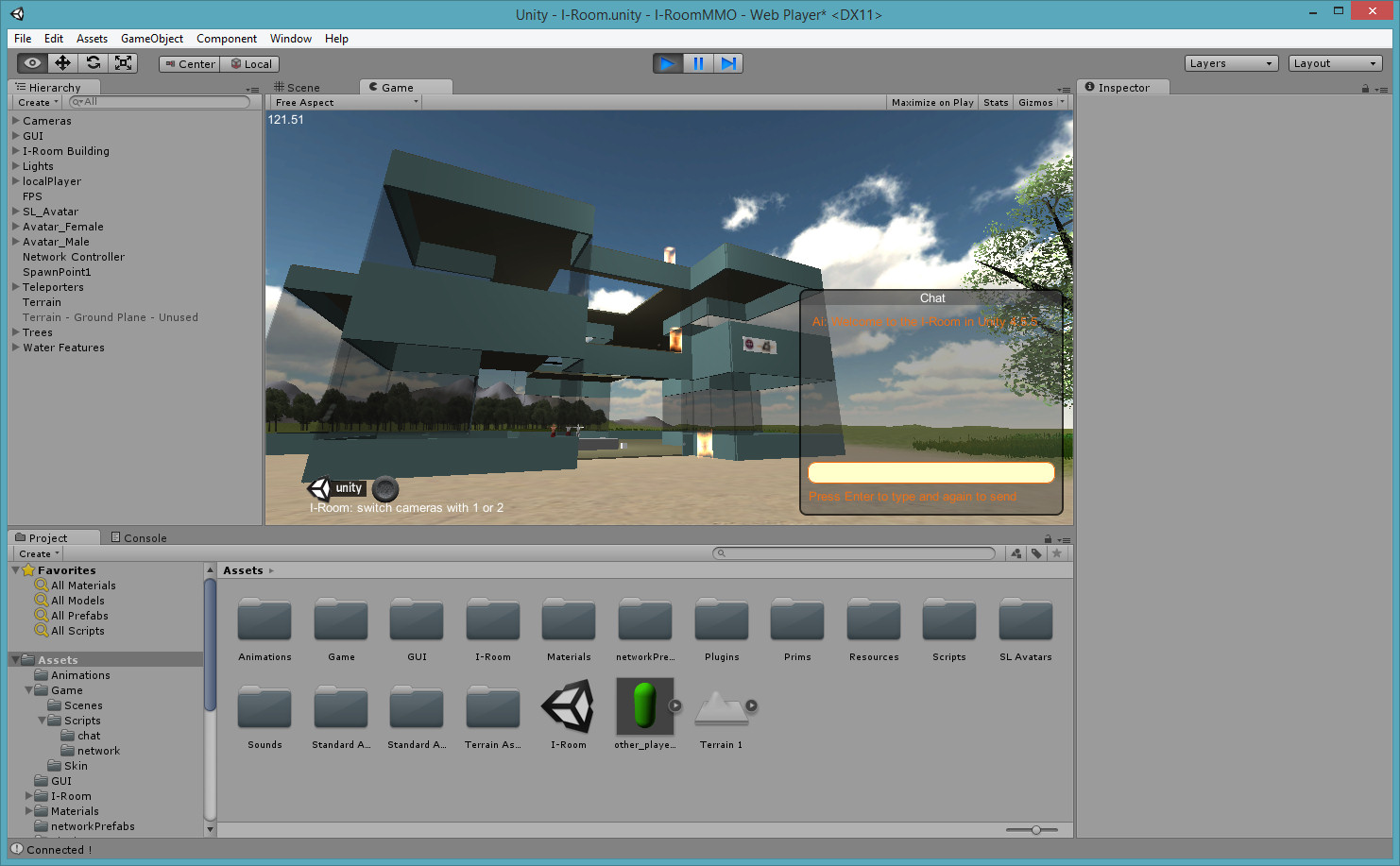 Unity Project Openvce And I Room Austin Tate S Blog