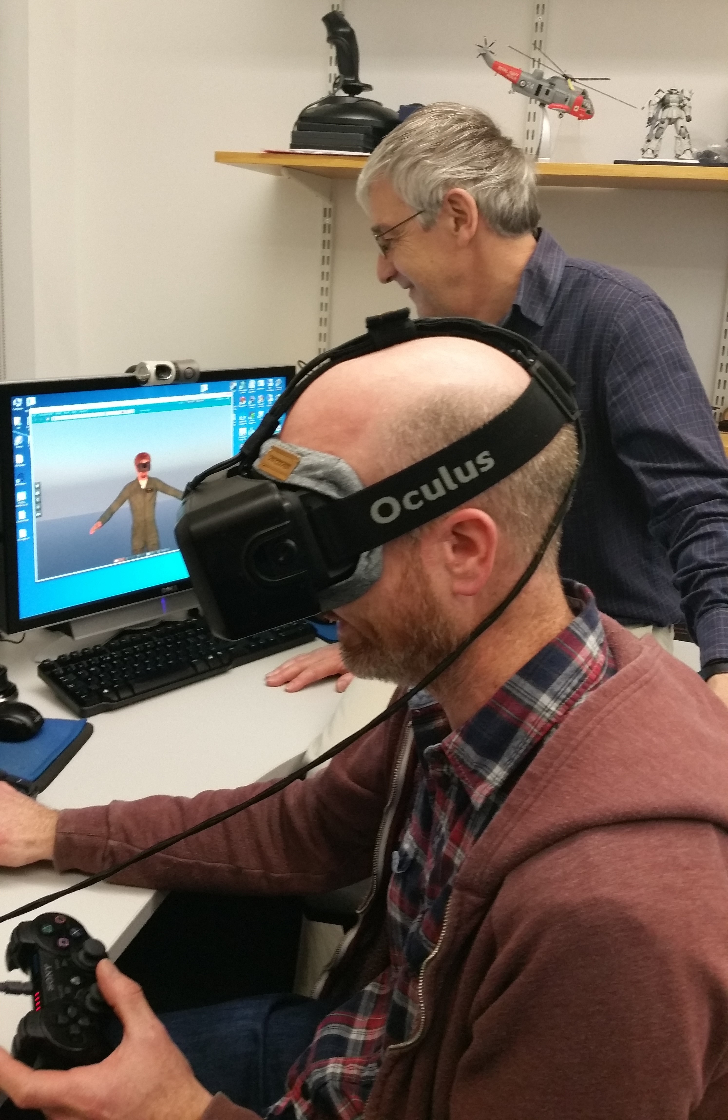 bd8115fa83bf IS Visit to Virtual Reality Facilities in Informatics