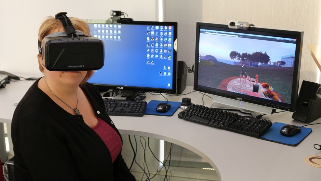 Jen Ross and Oculus Rift