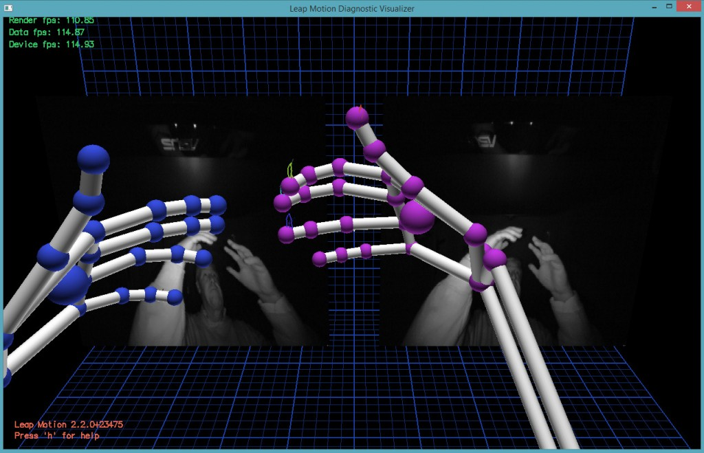 Leap-Motion-Visualizer