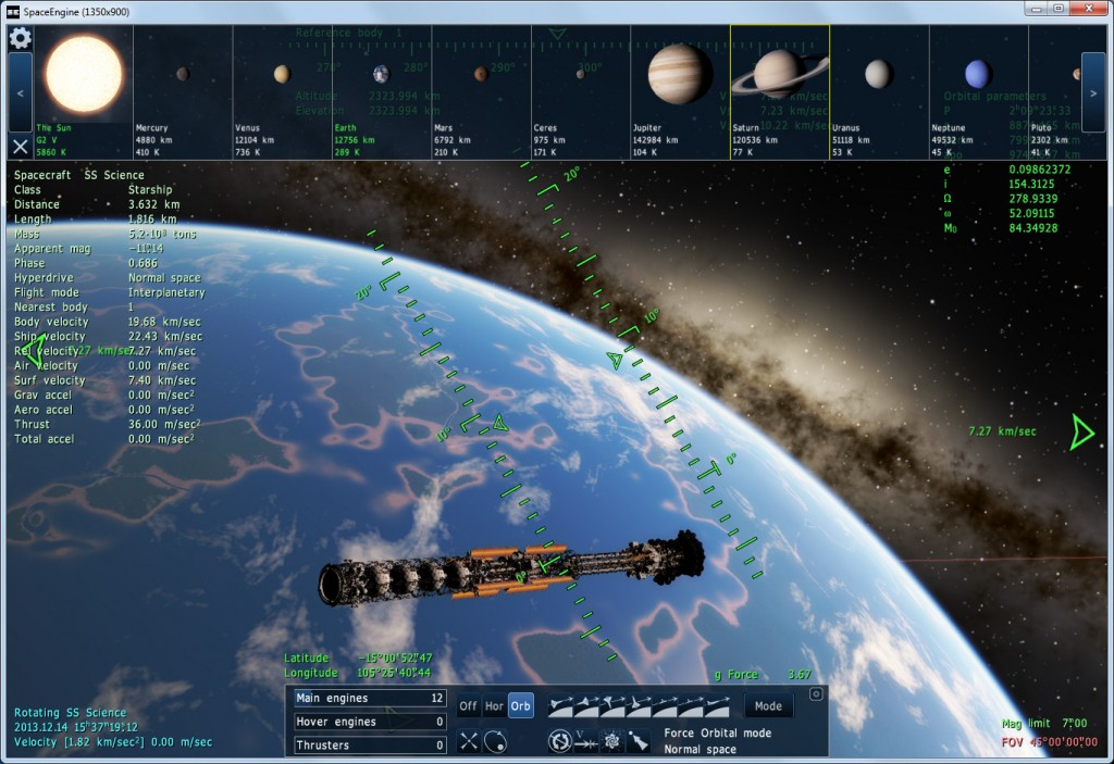 Space-Engine-Starship