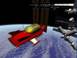 Supercar in Orbiter