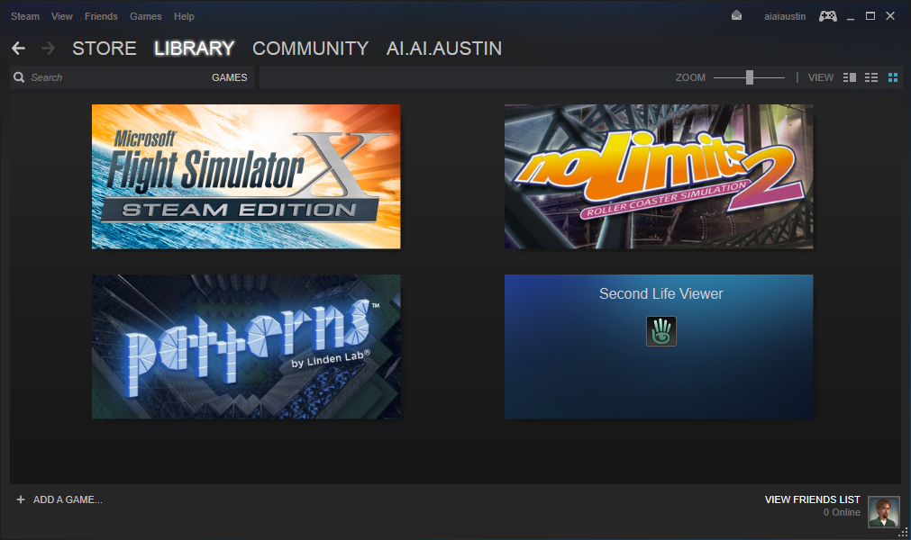 Steam-Library-Games