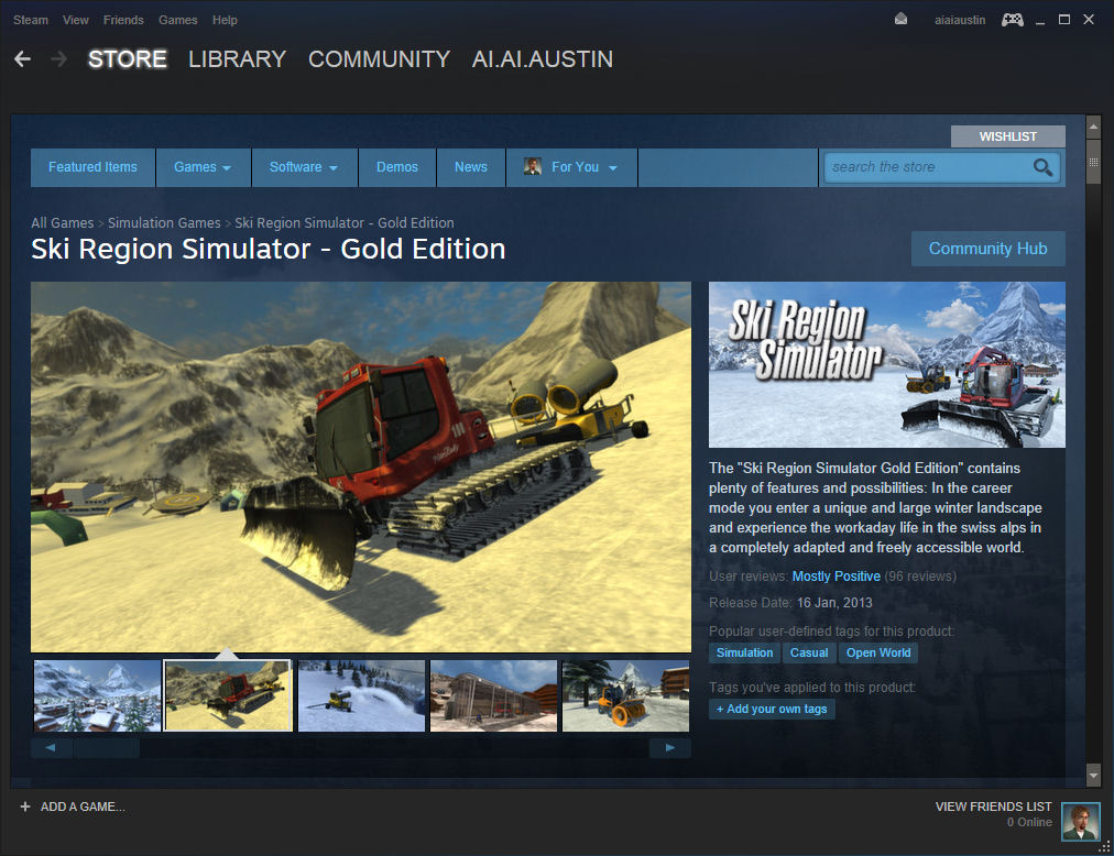 Search simulator steamspy all the data and stats about steam games.
