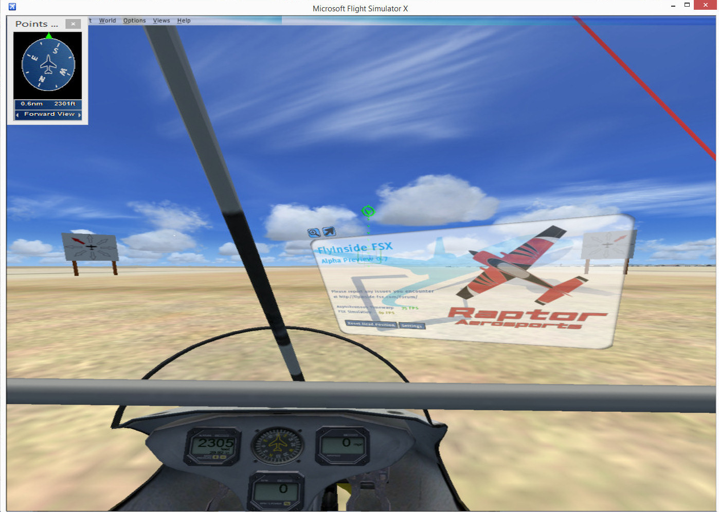 Using vorpX for Oculus Rift with FSX | Austin Tate's Blog