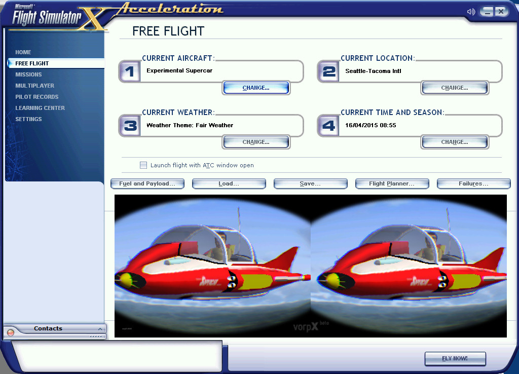 FSX-VorpX-Free-Flight-Selection-Supercar