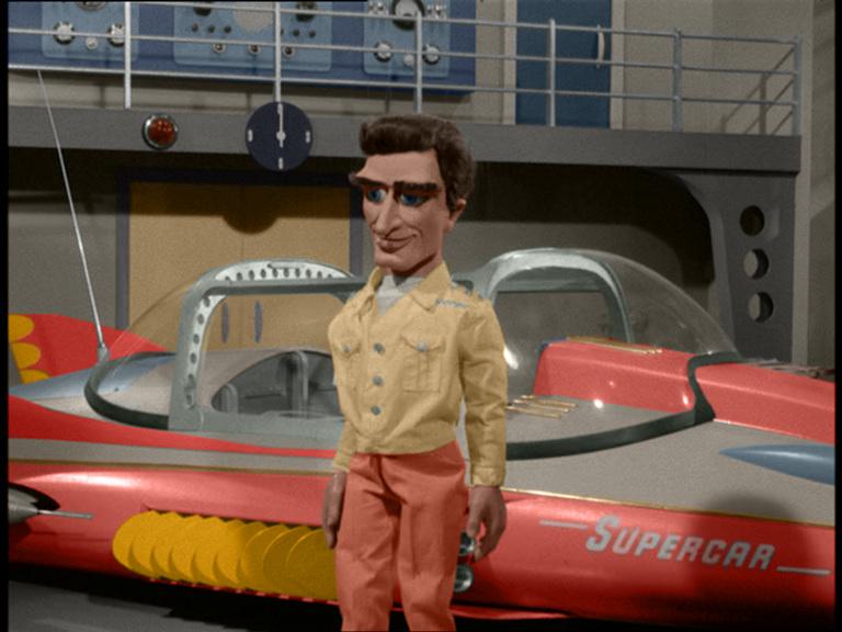 Supercar Colourized Supercar and Mike Mercury