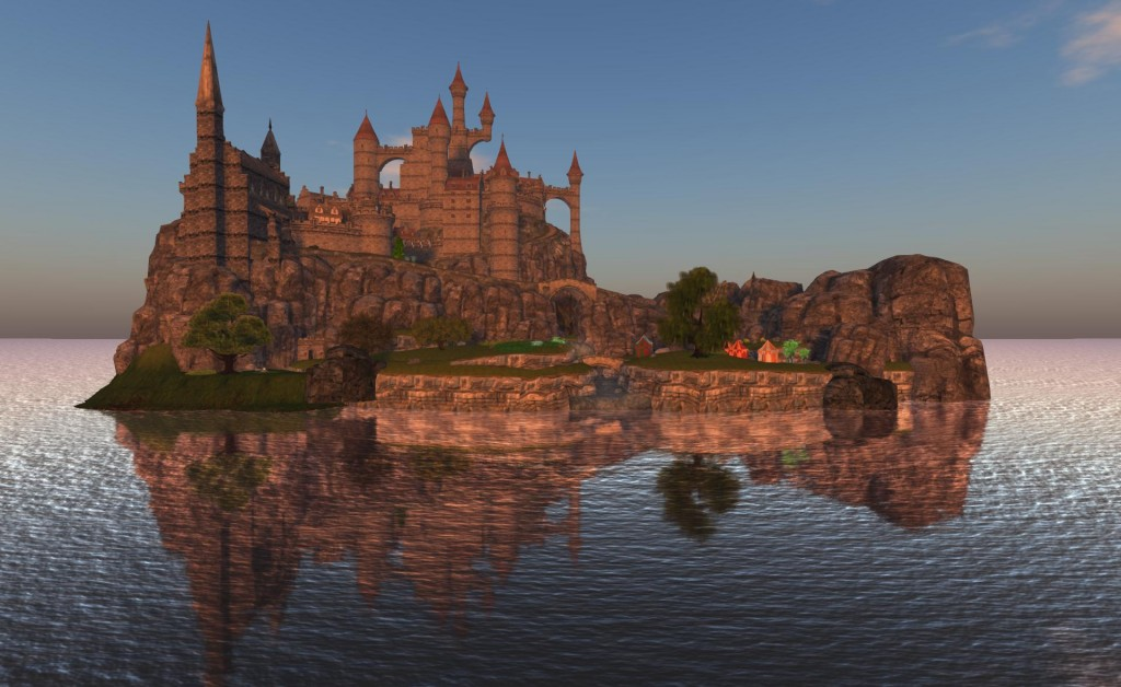 2015-05-18-OSGrid-Castle-Sunset