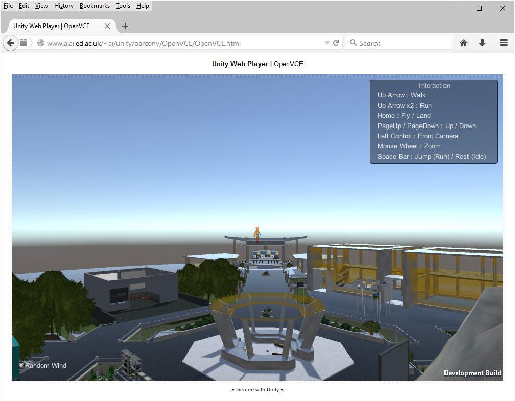 2015-09-04-Unity-OpenVCE-Web-Player