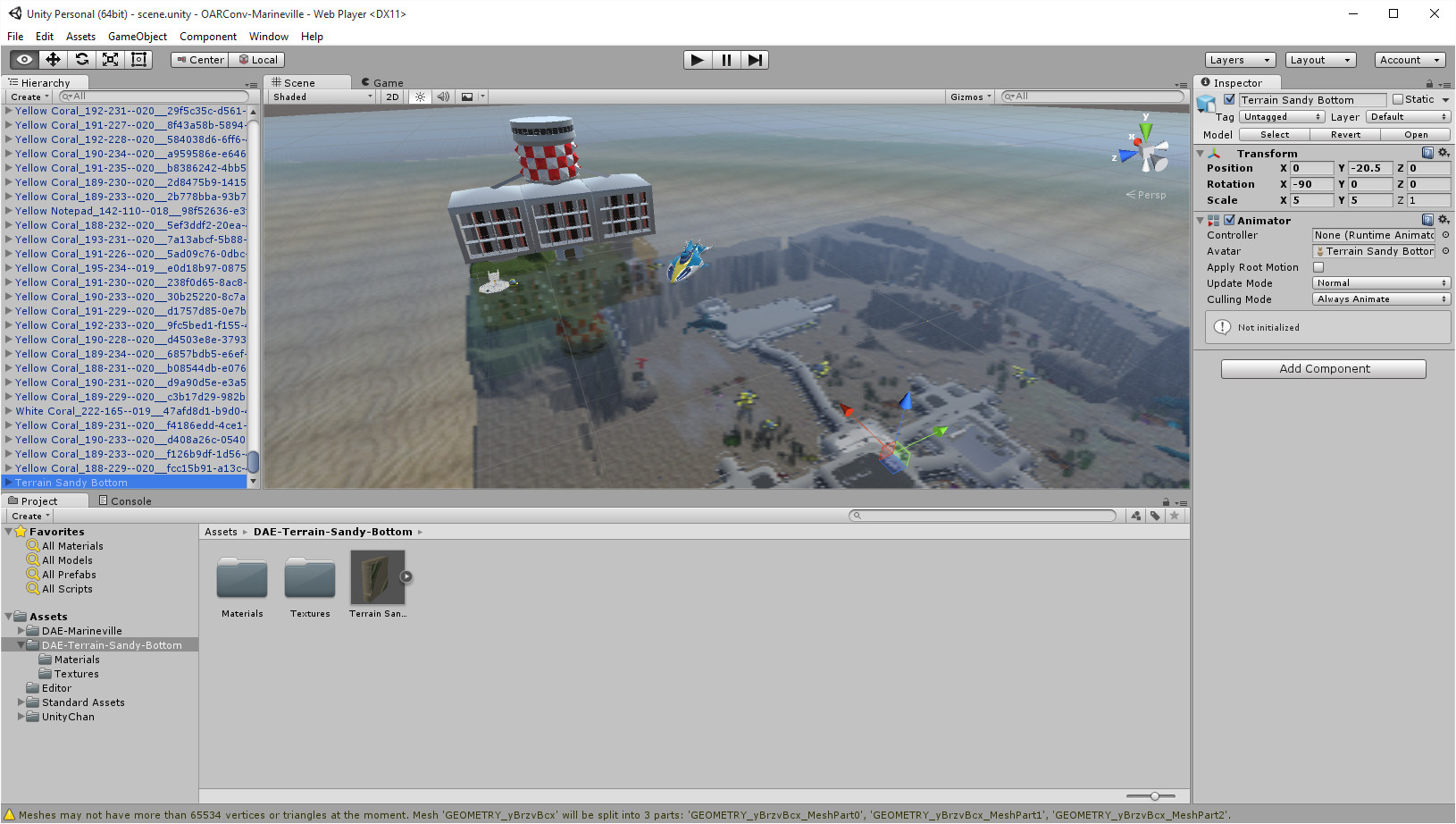 OpenSim OAR Convert to Unity Scene | Austin Tate's Blog