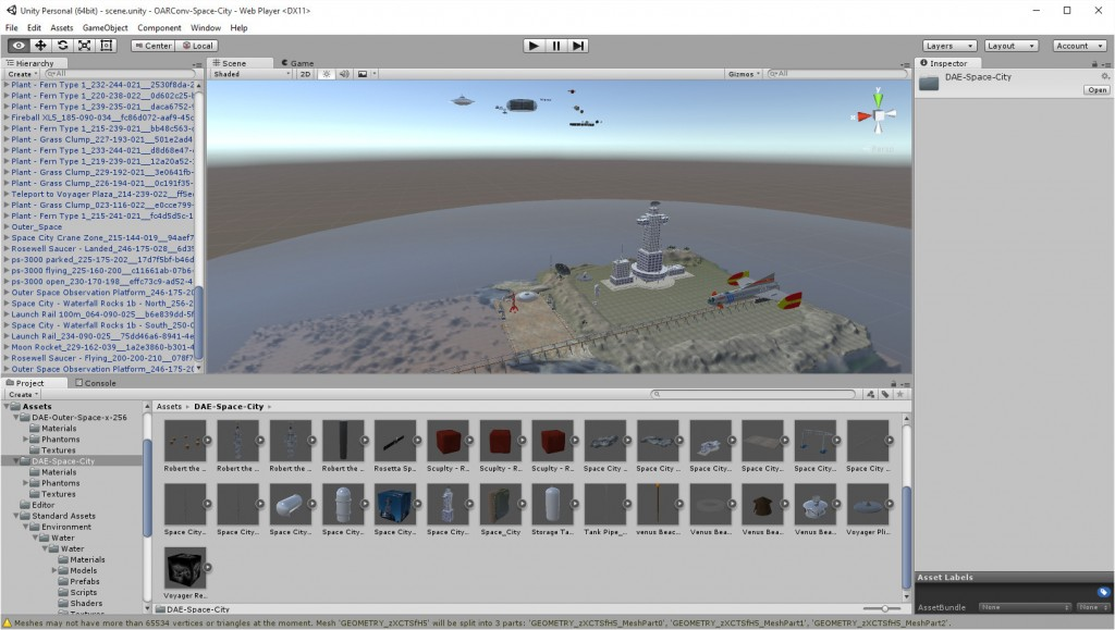 2015-09-07-Unity-Editor-Space-City-plus-Outer-Space