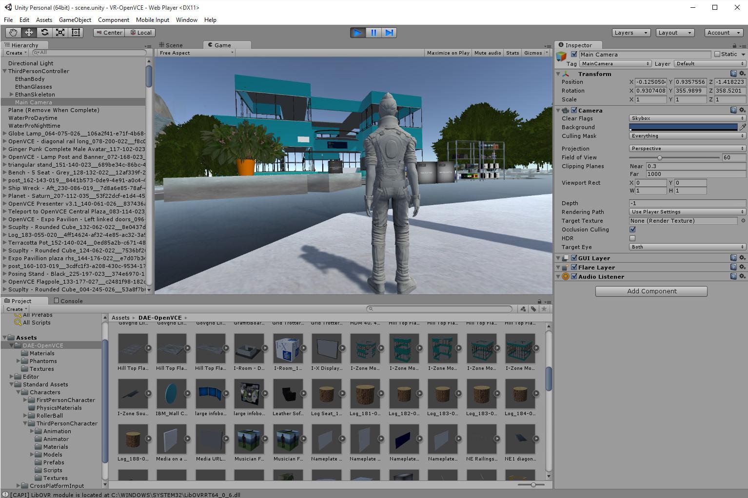Unity and VR   Austin Tate's Blog