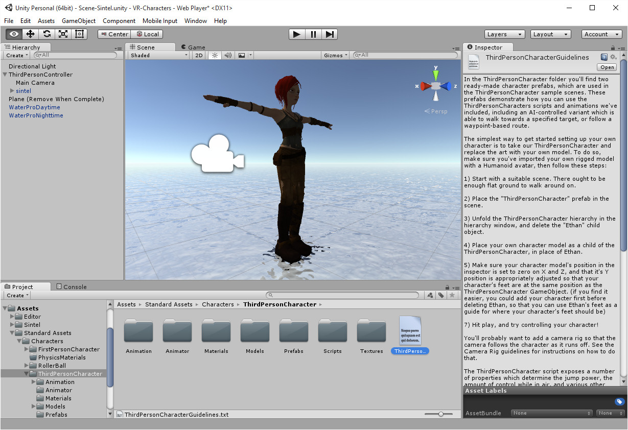 Unity3D Characters   Austin Tate's Blog
