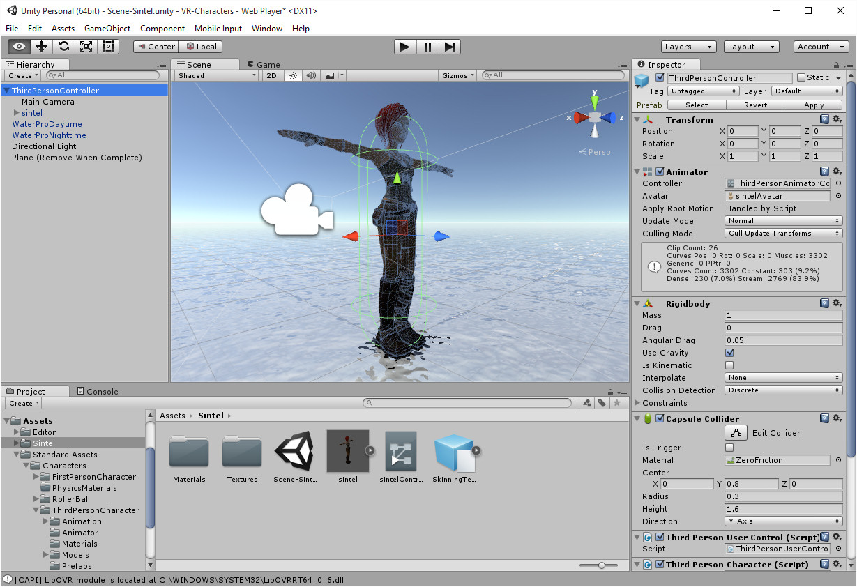 Unity3D Characters | Austin Tate's Blog