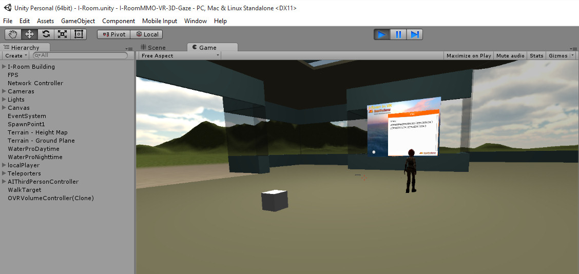 OpenVCE and I-Room in Unity with VR | Austin Tate's Blog