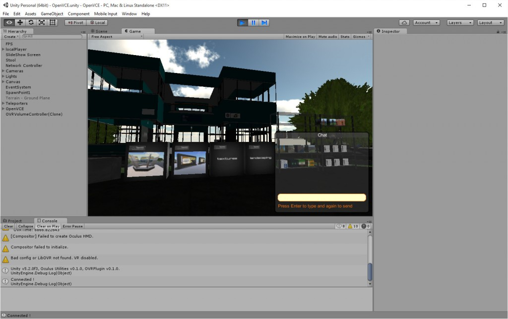 2015-10-05-Unity-OpenVCE-VR-3-Game-OpenVCE