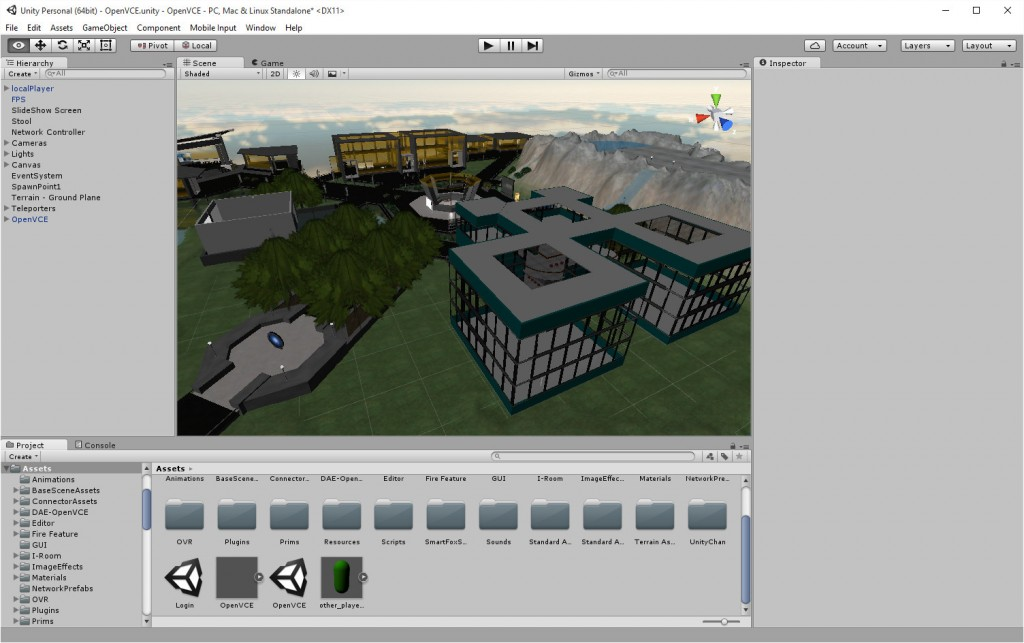2015-10-05-Unity-OpenVCE-VR-4-Editor-OpenVCE