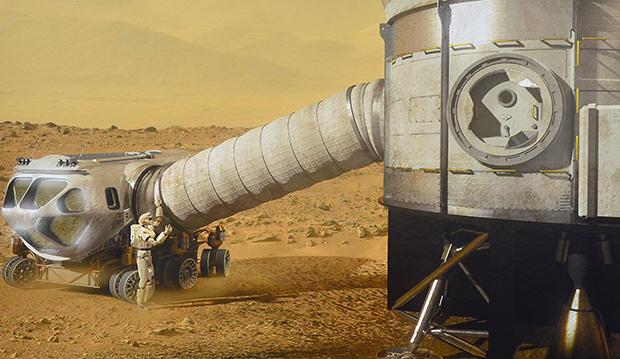 NASA-Valkyrie-on-Mars
