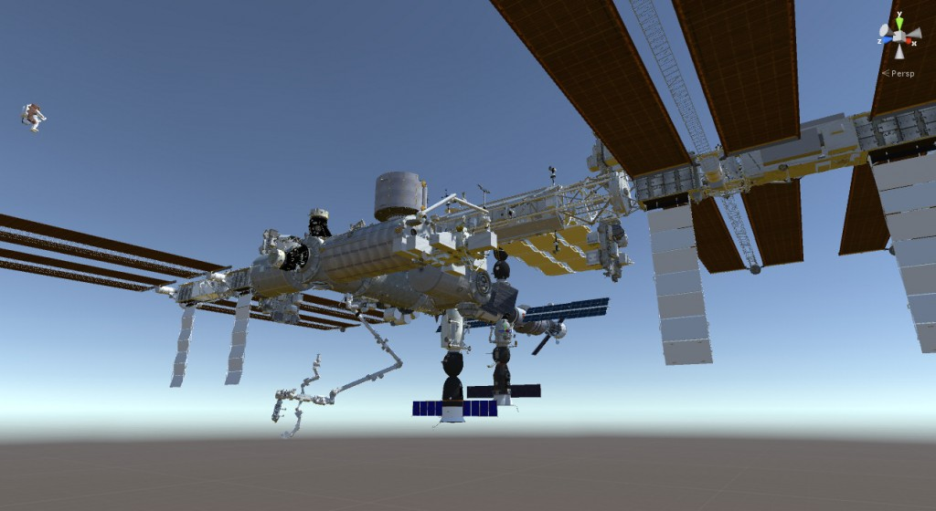 2015-12-17-Unity3D-ISS-Soyuz-Progress-Render