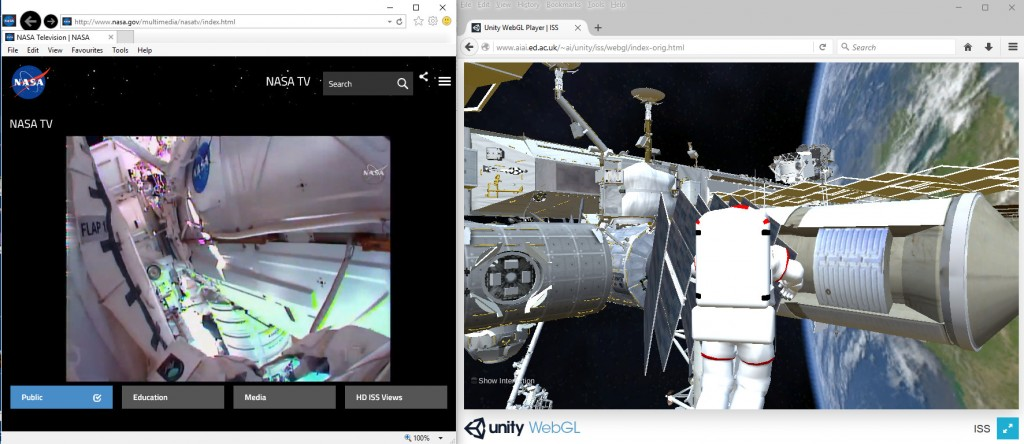 2015-12-21-ISS-Spacewalk-Real-and-VR