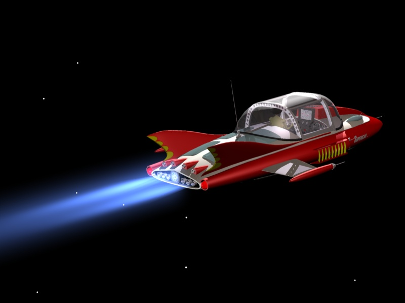 supercar-in-space