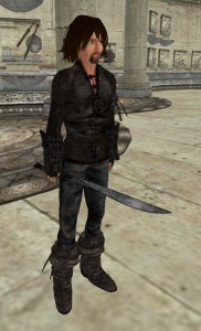 Ai Austin as Strider with Orcrist in Second Life