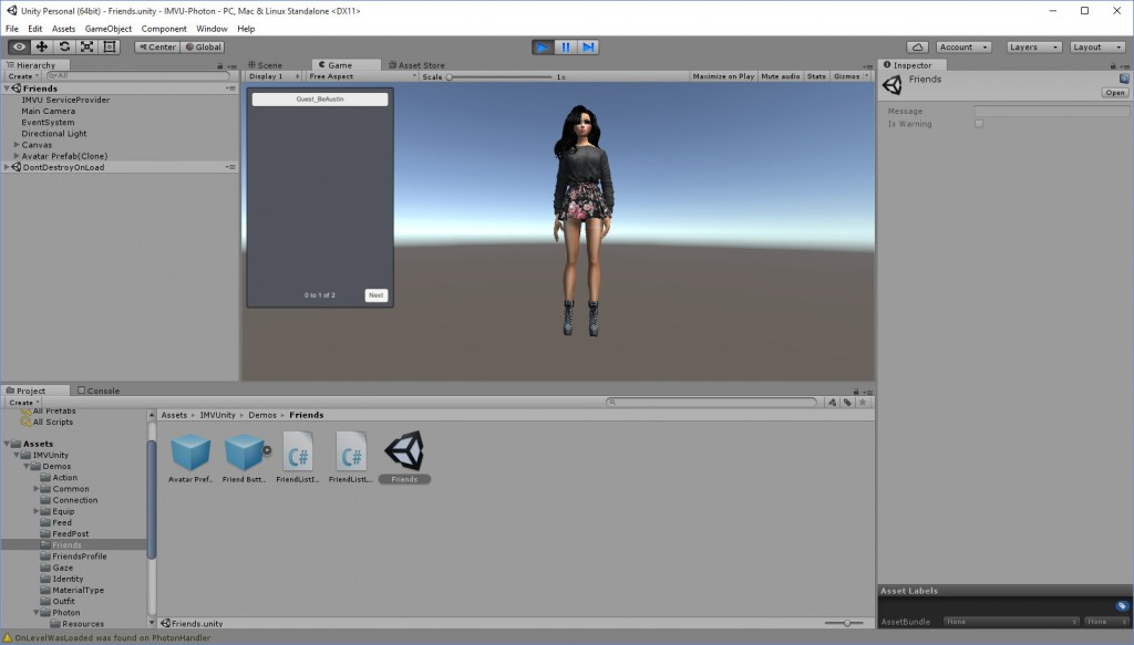 2016-05-03-Unity-IMVU-Photon-Friends