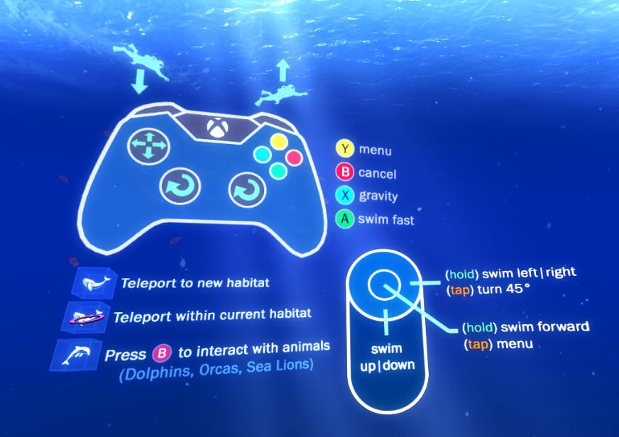 Ocean-Rift-Controls
