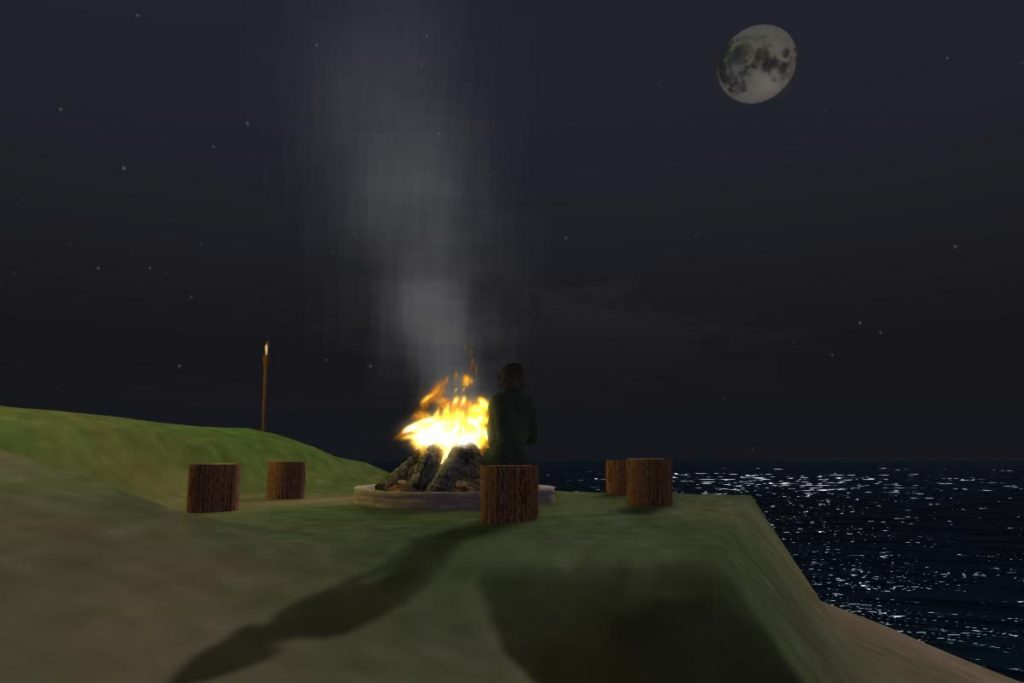 2016-07-22-OSGrid-VRLand-Campfire-at-Night