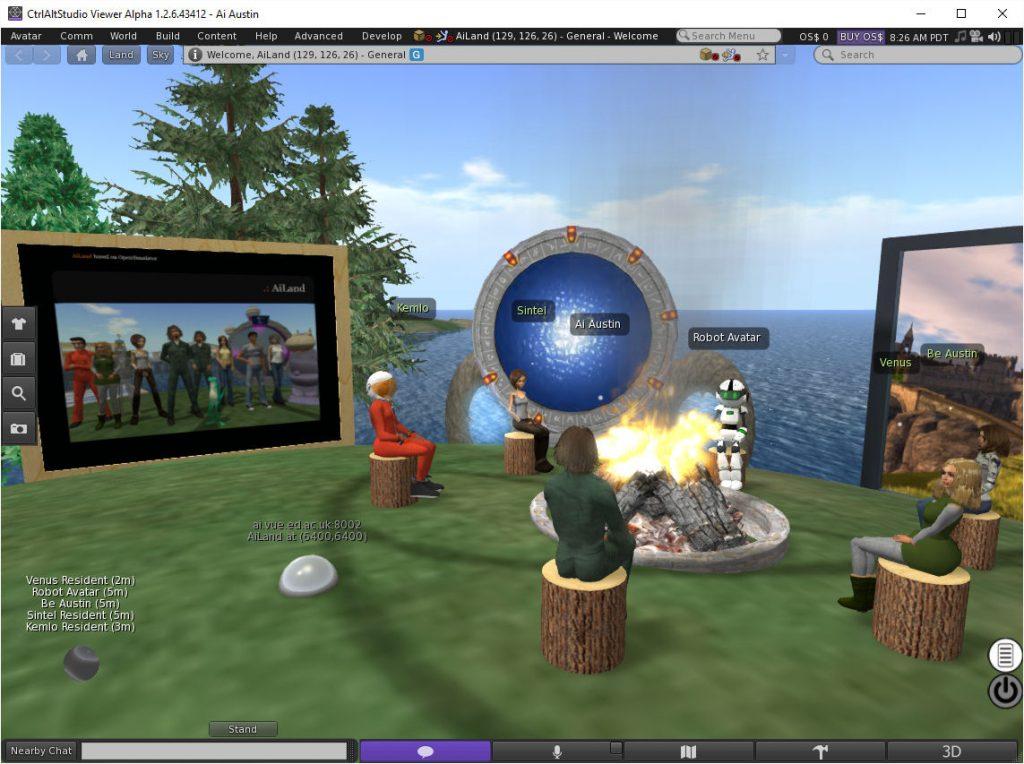 CtrlAltStudio-2D-UI-AiLand-Campfire-CtrlAltStudio
