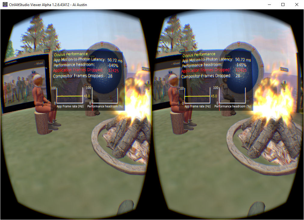 VR Campfire in OpenSim | Austin Tate's Blog