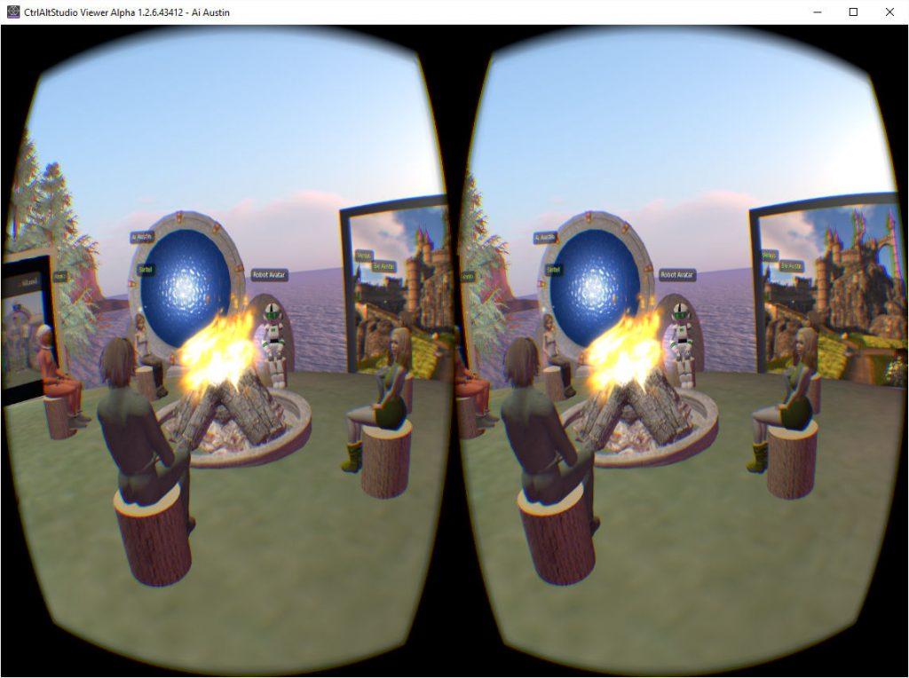CtrlAltStudio-VR-3rd-Person-AiLand-Campfire