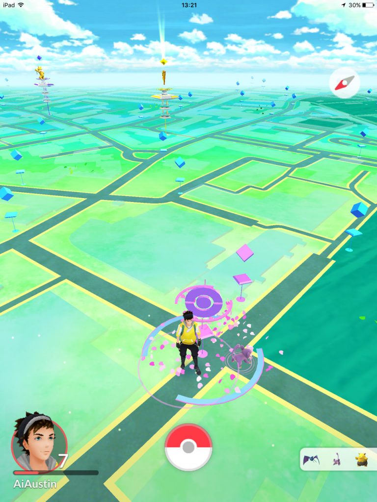 Pokemon-Pokestop-Informatics-with-Lure