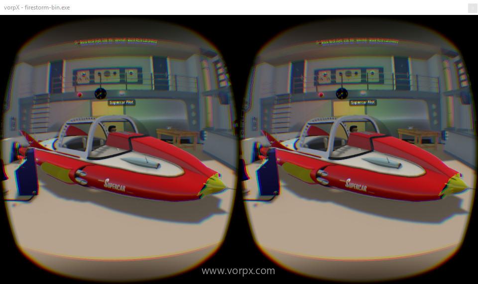 VorpX-OpenSim-AiLand-Supercar